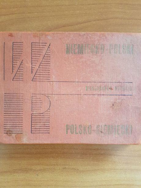 Kieszonkowy słownik niemiecko-polski i polsko-niem. S. Schmitzek, J.C