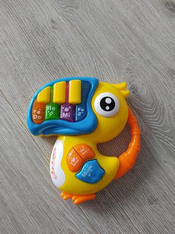 Zabawki niemowlęce muzyczne pianinko