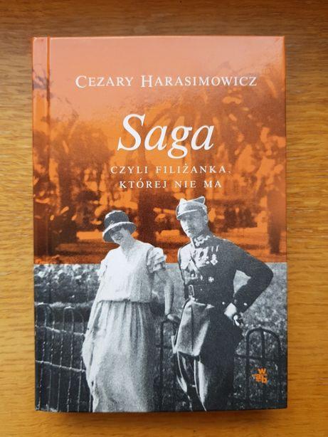 Cezary Harasimowicz, Saga czyli filiżanka, której nie ma Biografia
