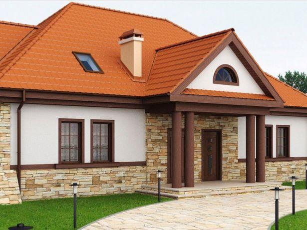 Дом участок Гнедин под Киевом, 5 км Киев Осокорки ( строим под ключ)