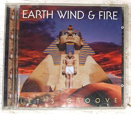 Earth, Wind & Fire – Let's Groove (Disco). Фирменный диск Audio CD