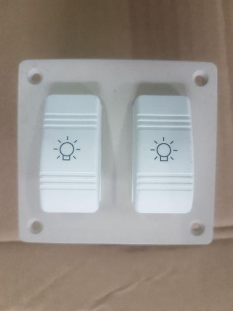 podwójny wyłącznik świateł na łódź jacht motorówkę żaglówkę prod. USA