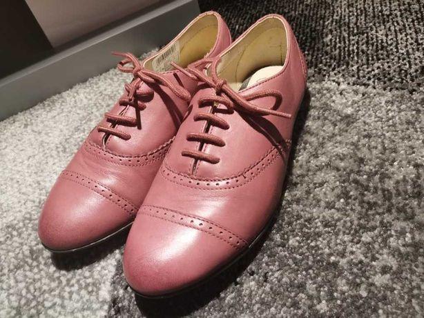 Buty dziewczęce clarks różowe