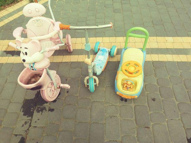 Zabawki podwórkowe