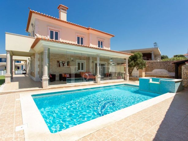 Moradia de luxo T4 com piscina e vista mar na Praia das M...