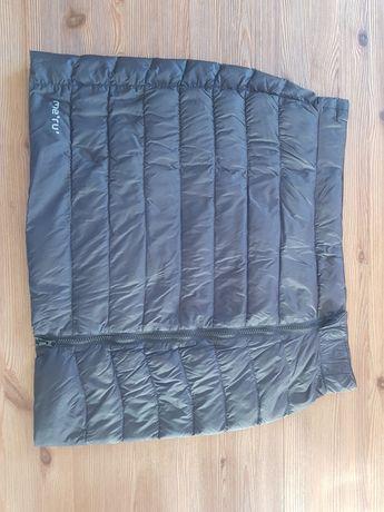 Spódnica Meru L pikowana puchowa czarna