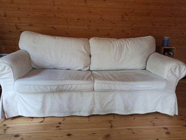 Sofa Ikea Ektorp dwuosobowa rozkładana