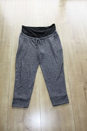 Spodnie dresowe ciazowe 3/4 H&M roz. XL