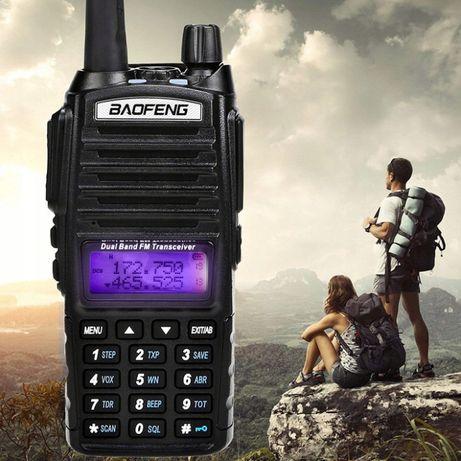 Baofeng UV-82 8W Radio Skaner POLICJA POGOTOWIE,PKP Rozblokowany!