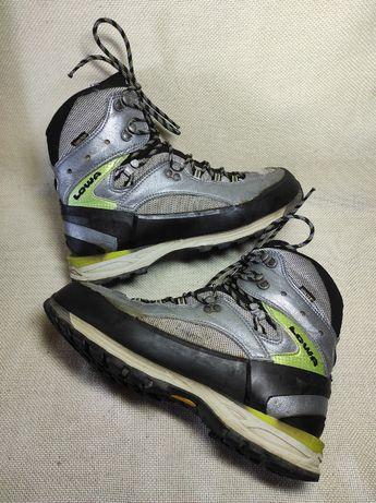 Горные ботинки LOWA Италия Gore-Tex Vibram 42р треккинговые Оригинал