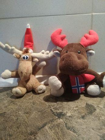 zabawki pluszowe renifery