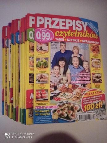 """28 poradników """" Przepisy Czytelników """" kulinarne kucharskie kuchnia"""