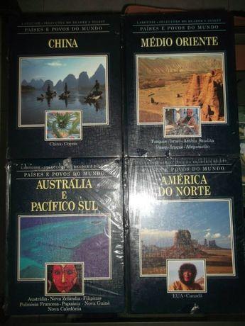 Coleção de livros sobre Países das Seleções Reader's Digest