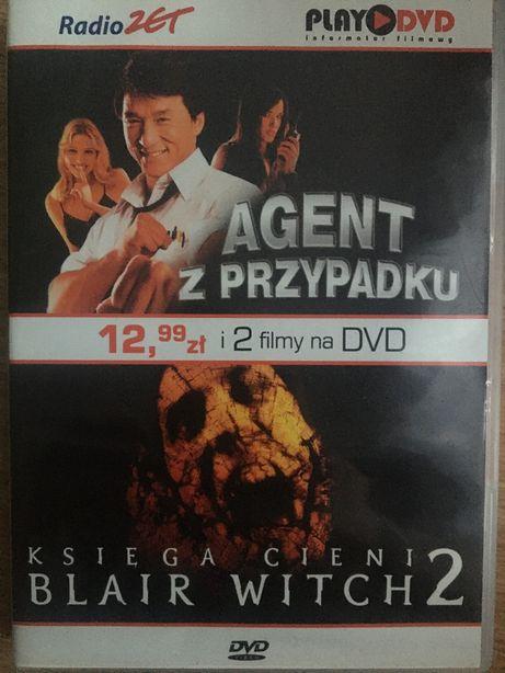 Płyta DVD agent z przypadku księga cieni 2 płyty