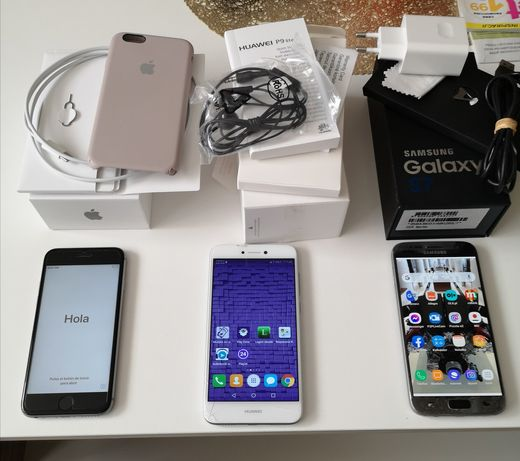 IPhone 6s 32gb, Galaxy s7 32gb, p9 lite. Zamienie
