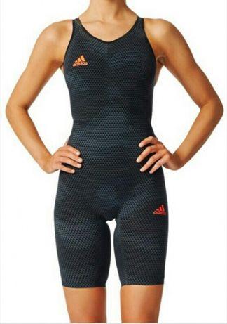 Fato de banho de competição profissional Adidas elite (FINA approved)