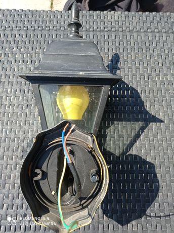 Kinkiet Zewnętrzny Latarnia Elewacyjna Lampa