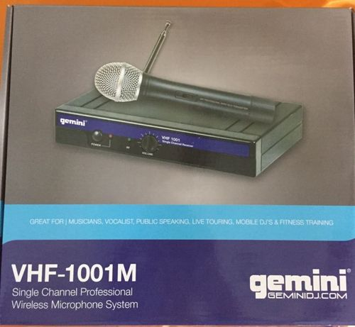 Радиосистема с микрофоном GEMINI VHF-1001