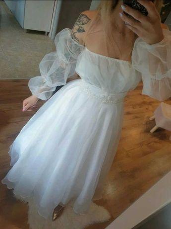 Suknie slubna body + spodnica