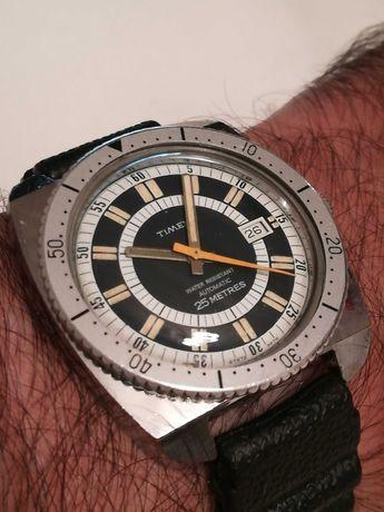 Relógio de homem antigo TIMEX Automatic 25 Metres