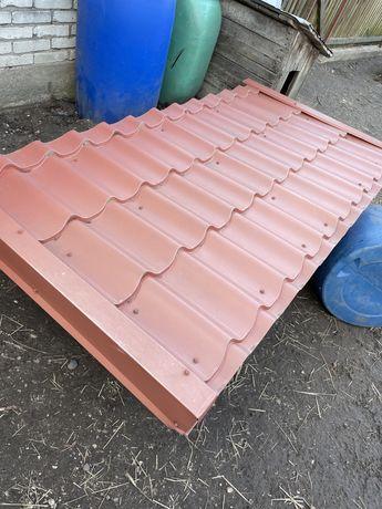 Daszek dach na wejsciowe drzwi