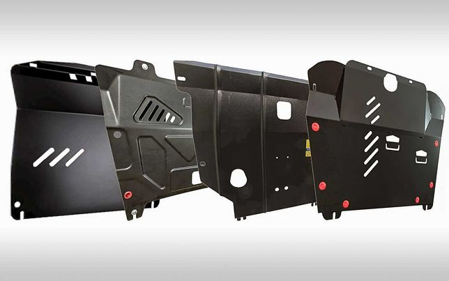 Защита картера двигателя и коробки передач