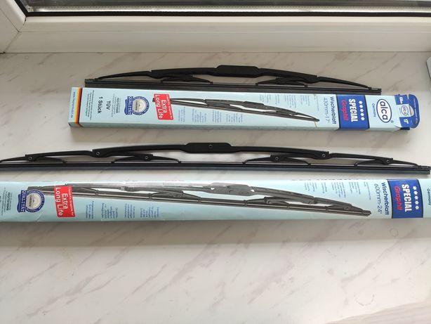Дворники ALCA оригинал комплектом (60 см + 43 см)