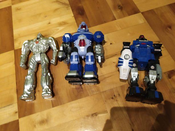 Roboty, zabawki,