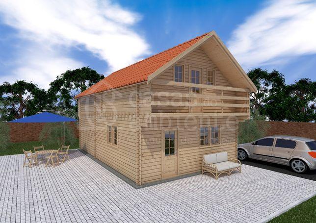Casa de Madeira   Cabana de Madeira   Casa Pré Fabricada  
