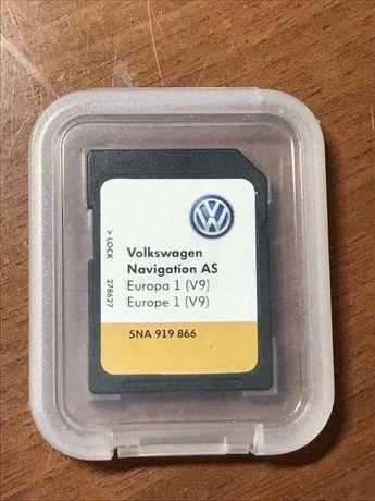 VW SD карта навигации