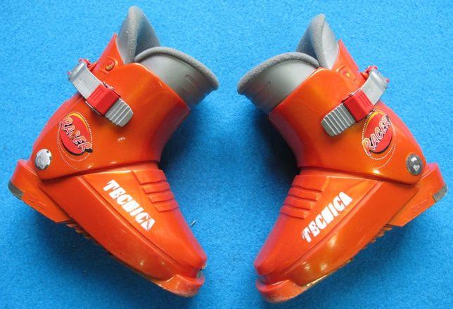 buty narciarskie TECNICA 15,0 25,0 dziecięce używane narty dla dziecka