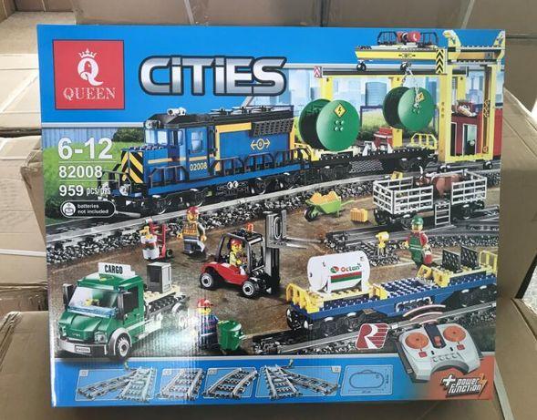 Klocki City Pociąg Towarowy 02008! Okazja!!