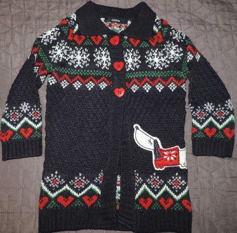 George sweter piesek norweskie wzory roz.98