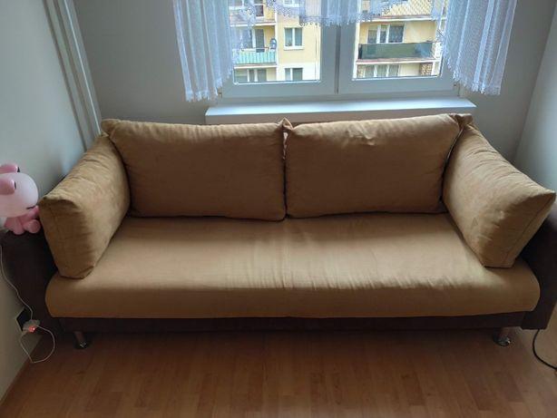 Sofa rozkładana 2 osobowa z pojemnikiem