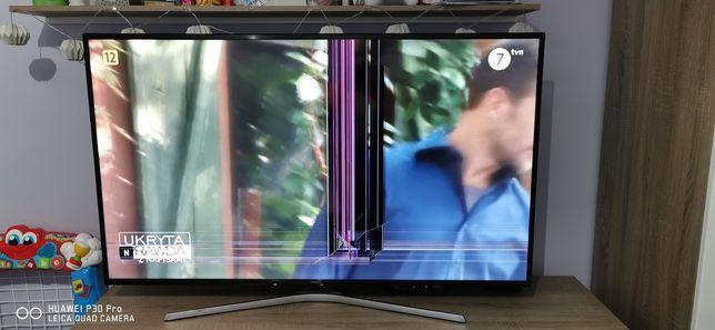 Telewizor Samsung 55 cali. Uszkodzona matryca
