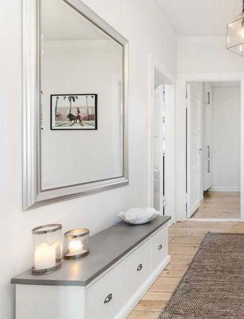 Espelho Ikea Levanger Prateado