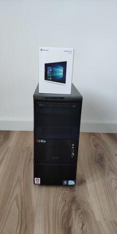 Komputer stacjonarny intel MSI H110 SSD 120GB i HDD 1TB Windows 10 box