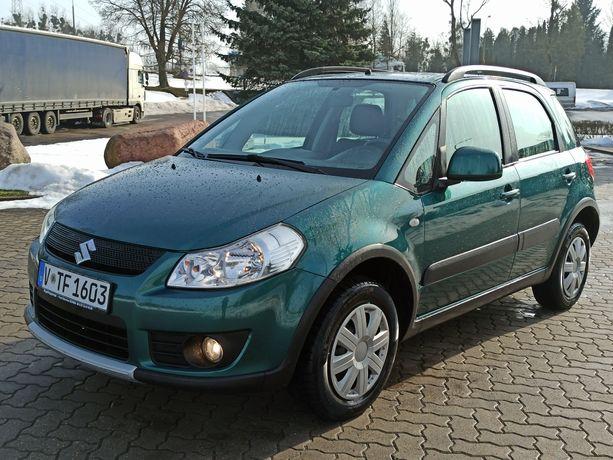 Suzuki Sx4 1.6 4x4 2007r Hak / Sport Pakiet / Klima / El.Szyby