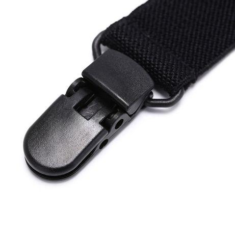 Подтяжки крепежи для штанов фиксатор клипса на резинке