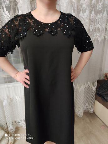 Святкова чорна сукня