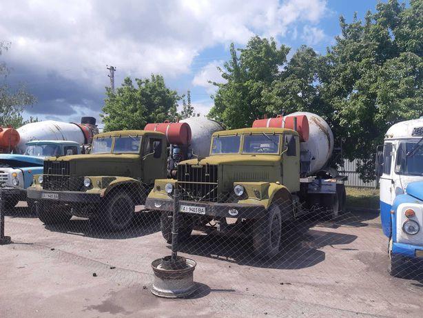 КРАЗ-257 бетоносмеситель