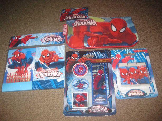 """Pack Escolar """"Homem Aranha"""" Novos e Embalados!"""