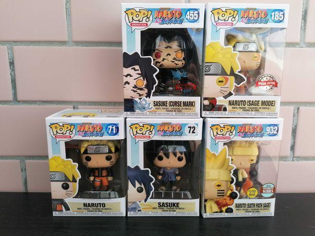 Funko pop Naruto - Sasuke e Naruto