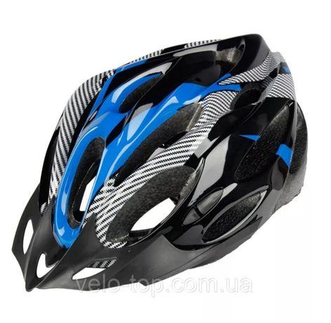 ВелоШлем, велошолом, шлем велосипедный со стопом, регулируемый размер