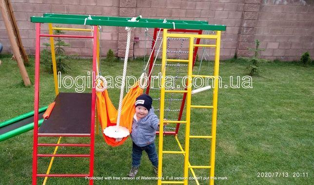 Игровой детский спортивный комплекс, горка, площадка, мат, качели