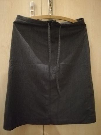 Spódnica szara firmy zero rozm. 40