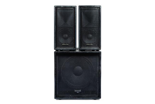 American Audio Tri Pack Satellite - zestaw nagłośnieniowy