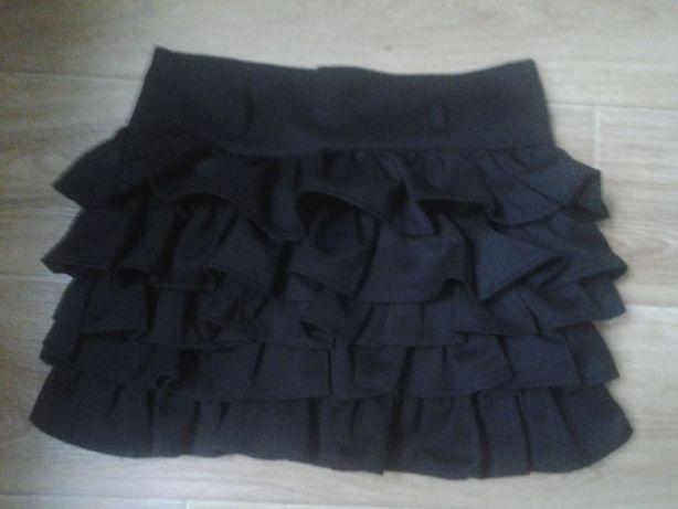 Школьная черная юбка
