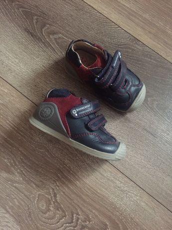 Кроссовки, ботинки кожа