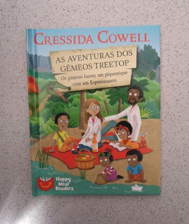 """2 Livros """"As Aventuras dos Gémeos Treetop"""" de Cressida Cowell"""